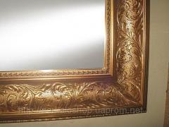 Зеркало в раме 610х820 мм для комнат, зеркало в