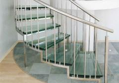 Ladders for the house from a natural stone, a