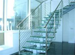 Ladders semi-screw glass, metal, stone -