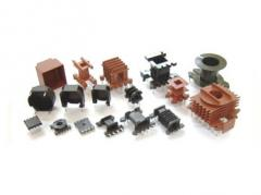 Accessories for cores. Cases, frameworks, brackets
