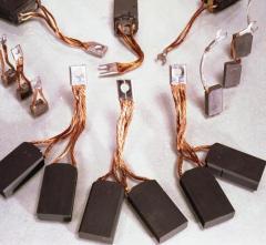 Электрощетки к электродвигателям