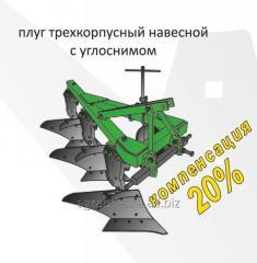 Плуг трехкорпусный навесной ПЛН 3-35 с...