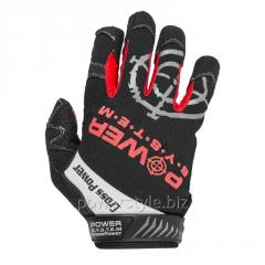 Перчатки для кроссфит с длинным пальцем Power System Cross Power PS-2860 S Black/Red