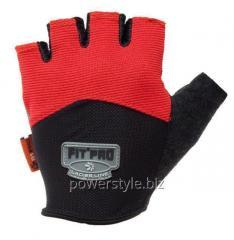 Перчатки для тяжелой атлетики Power System FP-06 XL Red