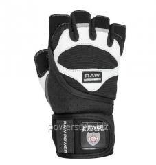 Перчатки для тяжелой атлетики Power System Raw Power PS-2850 L Black/White