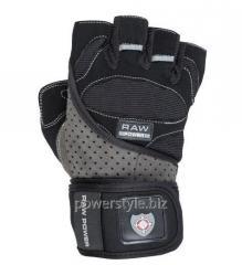 Перчатки для тяжелой атлетики Power System Raw Power PS-2850 M Black/Grey