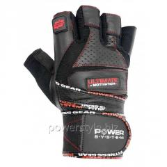 Перчатки для тяжелой атлетики Power System