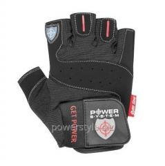 Перчатки для фитнеса и тяжелой атлетики Power System Get Power PS-2550 XXL Black