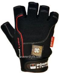 Перчатки для фитнеса и тяжелой атлетики Power System Man's Power PS-2580 S Black