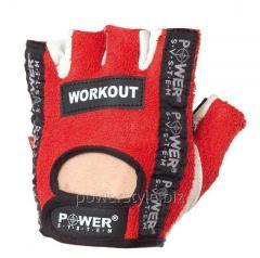 Перчатки для фитнеса и тяжелой атлетики Power