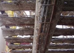 Repair structure for concrete Alfakon Repair,