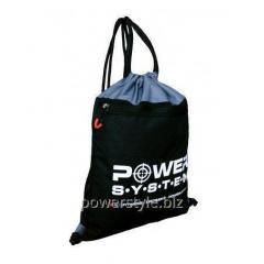 Рюкзак спортивный Power System PS-7011 Gym Sack Alpha Black/Grey