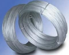 Wire thermally treated