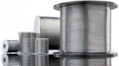 Wire from materials powder