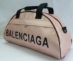 Спортивная женская сумка в стиле BALENCIAGA пудра