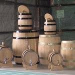 Barrels for wine, wooden