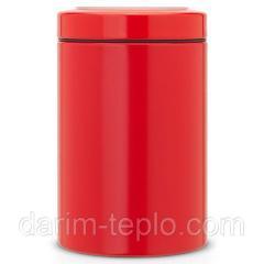 Контейнер с прозрачной крышкой 1,4л Passion Red