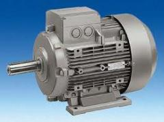 Electric motors for vent installations