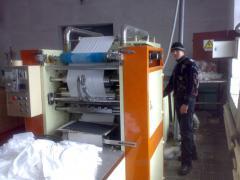 Оборудование для бумажных салфеток, упаковка