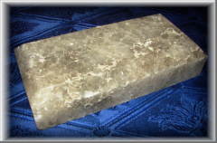 Плитка із солі_ Висота/ширина -170х80мм. Товщина