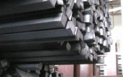 Preparations are steel square hot-rolled