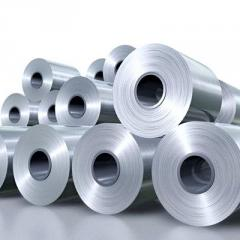 Corrugated steel roll