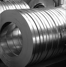 Tapes hot-rolled of a structural steel
