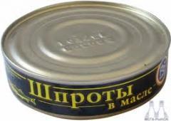 Sprats 150gr. RP wholesale, Lviv