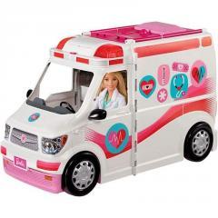 Барби машина скорой помощи Barbie Care Clinic