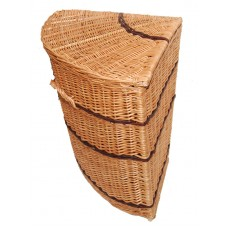 Laundry baskets from a rod