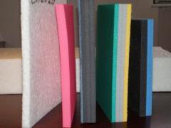 Polyethylene foam of all types and density,