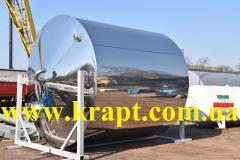 Емкость из нержавеющей стали диаметр 3000 мм