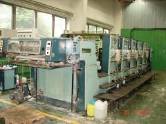 Five-colourful offset machine Planeta SV 54