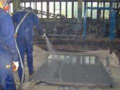 Polyurea, energy saving technologies, dusting