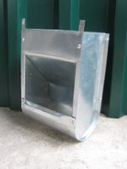Bunker feeder for rabbits of BK2