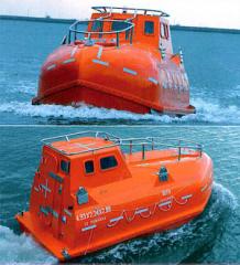 Lifeboat, boat of a free fall, saving equipmen