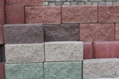 Blocks are dolomitic