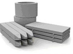 Products from cement, concrete, an artificial
