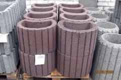 Beds concrete