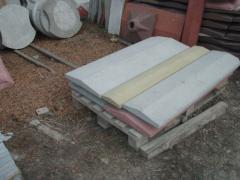 Concrete parapets