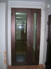 Protective doors, bulletproof