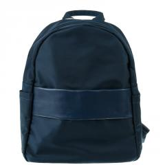 Рюкзак синий с полосой