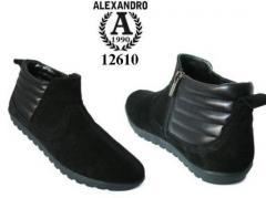Footwear the combined skin, model men's shoes