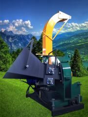 The chipping machine of MRETG30 combined