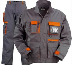 Special clothing with insulation