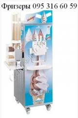 Equipment for the ice-cream industry