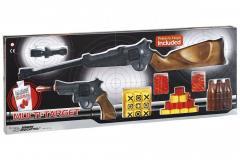 Игрушечные ружьё и пистолет Edison Giocattoli