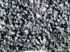Crushed stone granite fractions 2-5, 5-10, 5-20,