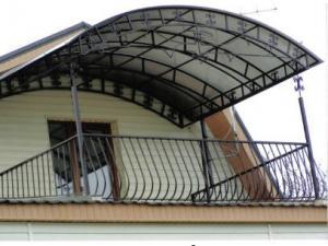 Балконы кованые, Харьков от производителя