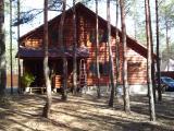 Maisons en poutres cilyndrées